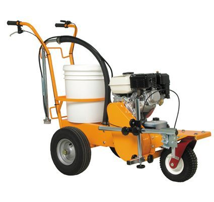 Lewis equipment parking lot line striper gas powered for Parking lot painting equipment